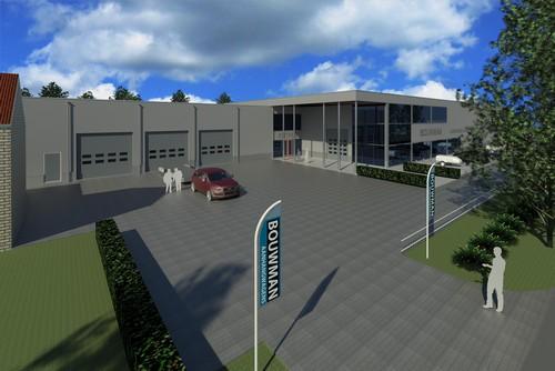 Nieuwbouw bedrijfspand Groningen