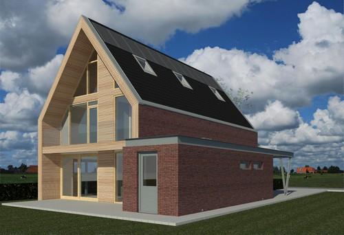 Nieuwbouw woonhuis te Meerstad Tersluis
