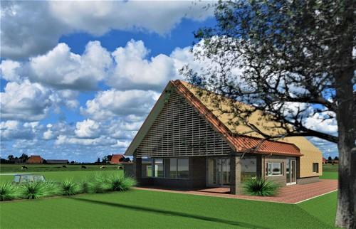 Nieuwbouw woonhuis te Zevenhuizen