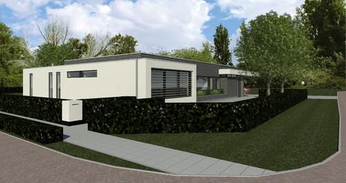 Nieuwbouw bungalow te Bedum