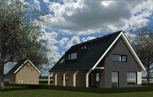 Nieuwbouw woonhuis Poelsnip te Bedum