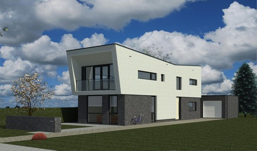 Nieuwbouw woonhuis te Appingedam